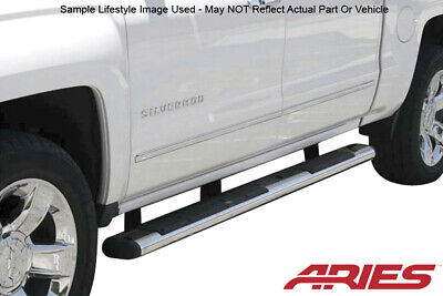Ford F  Standard Cab In Oval Stainless Aries Nerf Bars Side