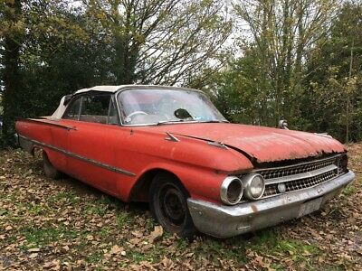 Ford Galaxie 500 Sunliner Convertible 352ci V8 For Restoration