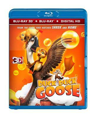 Duck & Goose 3D - Blu-Ray Digital Hd Disc - Offer Price - New 2018