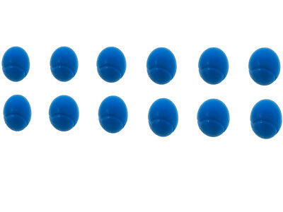 E-Deals 70mm Soft Foam/Sponge Balls - Pack of 12 Blue