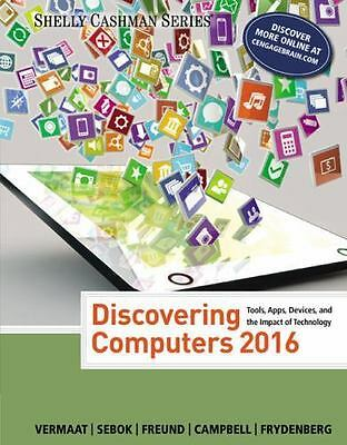 Discovering Computers 2016 (Hardcover)