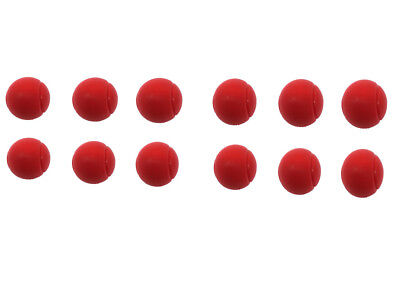 E-Deals 70mm Soft Foam/Sponge Balls - Pack of 12 Red