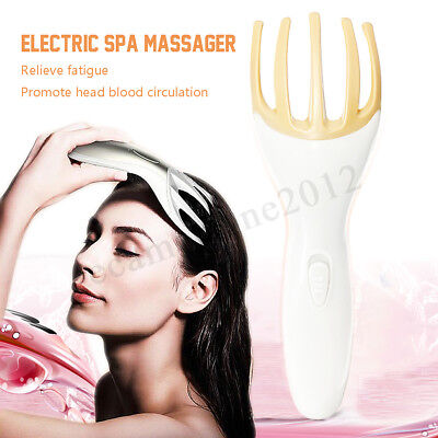 Head Neck Body Relax Massager Fingers Claw Vibration Massage Stress Relief Tool