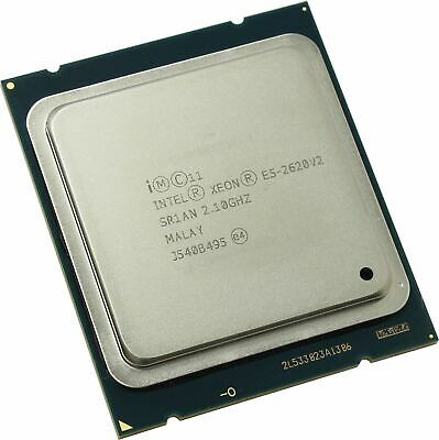 INTEL XEON E5-2620 v2 2 10GHZ 6-CORE 15MB PROCESSOR SR1AN Six core CPU 80W