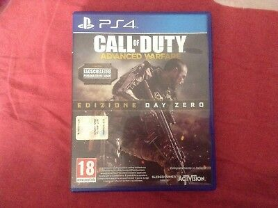 call of duty advanced warfare ps4 PlayStation 4 edizione day zero
