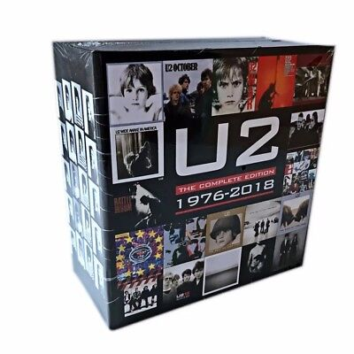U2 CD BOX SET THE COMPLETE EDITION 1976 - 2018. New sealed. Nuevo precintado
