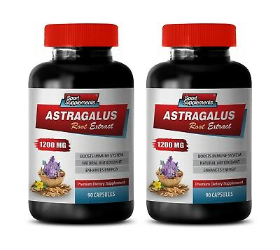 astragalus root - Astragalus Root Extract 1200mg - weight loss detox 2 Bottles