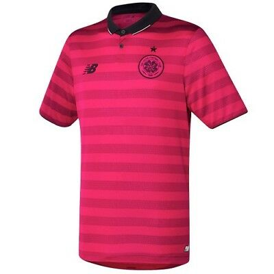 New Balance Glasgow Celtic Football Club Pink 3rd Shirt Adult S-XL BNWT £14.95
