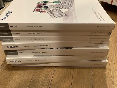 Sotheby,s Important jewelry Catalogs