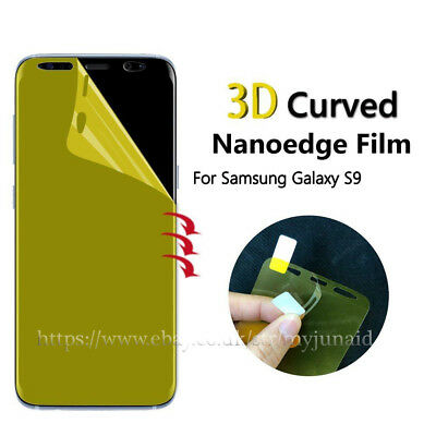 Samsung Galaxy S9 TPU Screen Protector FULL Edge Cover Film - Clear Protector