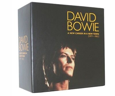 David Bowie A New Career In A New Town (1977-1982) 11CD Set. New sealed / nuevo