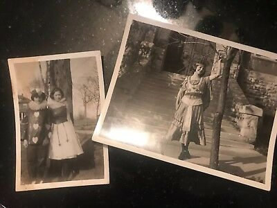 Antique Vintage Halloween 1920's Snapshots