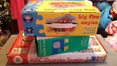 Joblot 3 Children's Learning Jigsaw Puzzles, all complete,3+, ELC, Orchard Toys