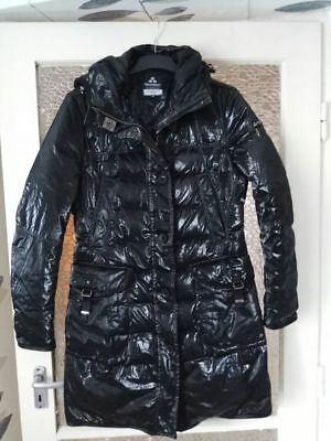 PEUTEREY Womens  Goose Down Shiny Coat Jacket Parka SIZE:IT 48, UK 16, EU 44