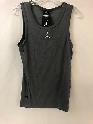 NWT Nike Air Jordan Buzzer Beater Dri-Fit Tank Top Shirt Sz S