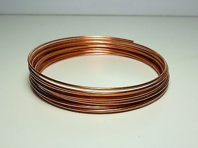 Filo Rame matassa 1 mm / 1,5 / 2 / 2,5 / 3 mm DIY Soft Copper wire jewels Hobby