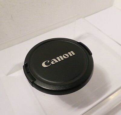 AUTHENTIC  CANON E-52mm LENS CAP for 52mm FILTER THREADS