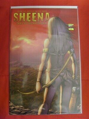 Sheena Trail Mapinguari 1 Variant Comic Cover C Seeley Roberts 2008 Nm Rare !!!