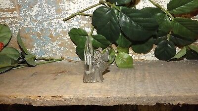 Pewter Wizard With Crystal