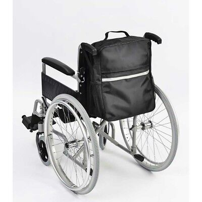 Waterproof Wheelchair Storage Shopping Bag, reflective strip, new unused REDUCED