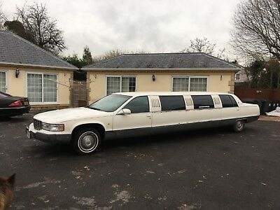 1998 Cadillac Fleetwood Limousine 120 Stretch With J Seat