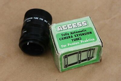 Photography-Vintage Fully Automatic Camera Extension Tubes (11 mm, 20 mm, 50 mm)