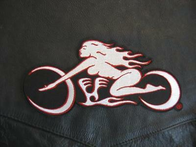 OBB Motorcycle Logo Embroidered Patch