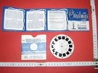 """Alte Viewmaster 3D Bildscheibe Sawyer's Portland """"XM-2 The Christmas Story"""""""