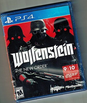 Wolfenstein: The New Order PS4 for Sony PlayStation 4