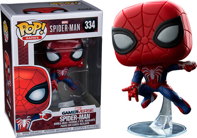 Funko Pop! Games Marvel Spiderman Gamerverse Spider Man #334