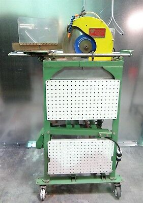 Pistorius Machine Co Model C Wet Saw on Stand with Baldor Single Phase ¾hp Motor