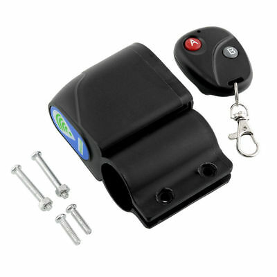 Lock Bicycle Cycling Bike Security Wireless Remote Control Vibration Alarm Super