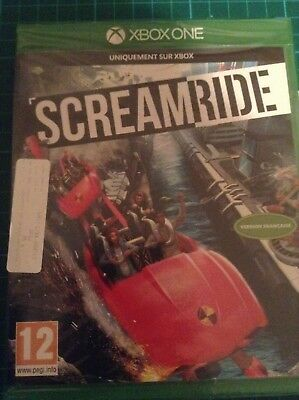 SCREAMRIDE Theme Park Game - Microsoft Xbox ONE ~12+ ~ BRAND NEW & Sealed !!