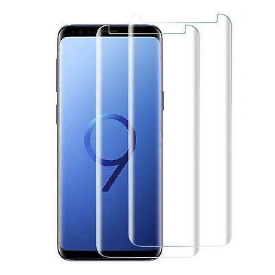 2x 3D Schutzglas für Samsung Galaxy S8 Hart Glas Panzerfolie Display Full Screen