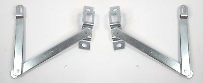 Pair Tailgate Hinge Link Supports for 1967-72 Chevy/GMC Pickup Fleetside