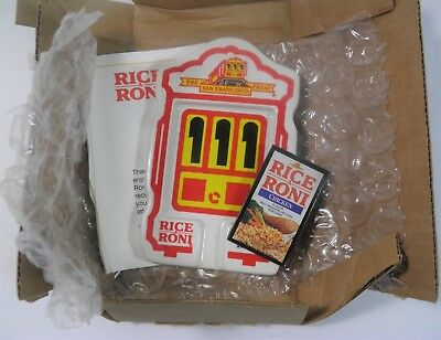 New Vtg Rice-A-Roni Noodle Roni Spoon Rest Magnet Promo San Francisco Trolley