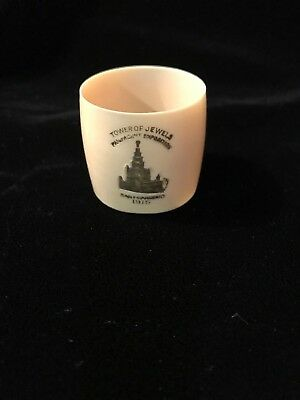 1915 Pan Pacific Intl Expo PPIE Celluloid Napkin Ring