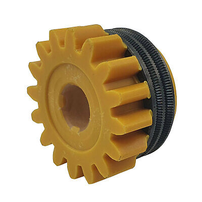 Kemppi 1.2mm - 1.6mm Knurled V Grove Feeder Drive Roller for Fluxcored MIG Wire