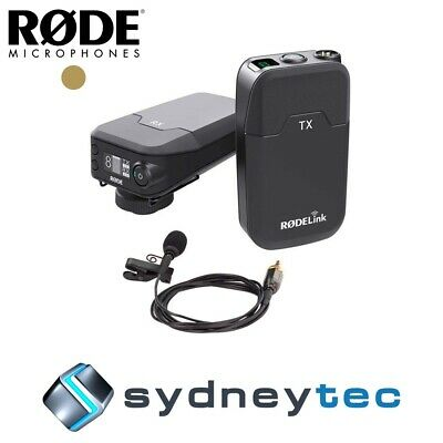 New Rode RODELink Filmmaker Kit Digital Wireless System for Filmmakers