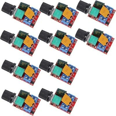 10Pcs Mini DC 5A Motor PWM Speed Controller 3V-35V Speed Switch LED Dimmer Lot