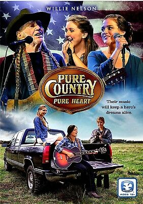 New Dvd - Pure Country Pure Heart - Willie Nelson , Shawn Michaels , Laura Bundy