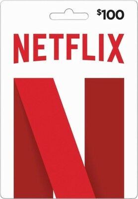 $100 Netflix GiftCards | Email Delivery | USA Only [DISCOUNTED]