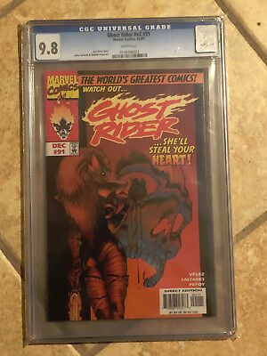 GHOST RIDER Vol. 2 #91 cgc 9.8 1997 Low Print Run Final Issues of Series