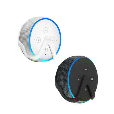 Holder Wall Mount For Amazon Echo Dot 3 Space-Saving Compact For bedroom Stock