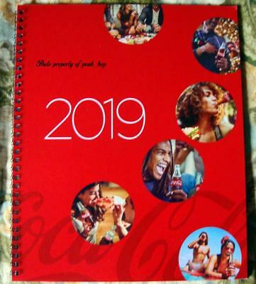 The Official 2019 Coca-Cola 13 Month Planner Spiral Bound
