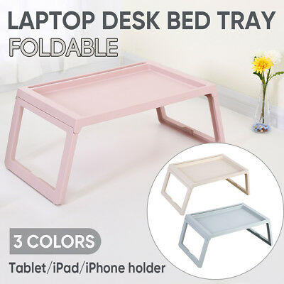Portable Folding Laptop PC Desk Lap Bed Tray Home Table Shelf  Dinner Notebooks