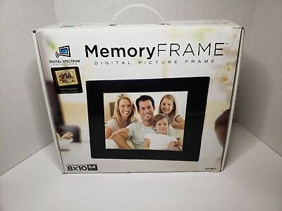 "Digital Picture Interchangable 8x10 Memory Frame Mf-801 8.4"" screen with remote"