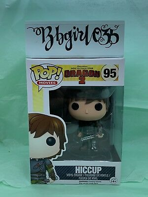 FUNKO POP! How To Train Your Dragon 2 #95 HICCUP Retired w/soft protector