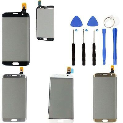 For Samsung Galaxy S7 Edge G935 Part Front Outer Touch Screen Digitizer + Tools