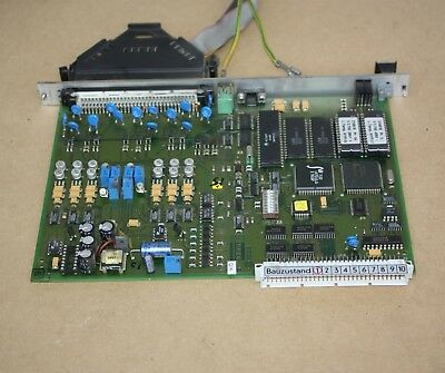 ARBURG 74B-8212 pcb CONTROL CARD - from 220S ALLROUNDER 150-60 INJECTION MOLDING